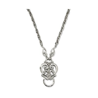 Jewelryweb Silver-tone Fancy Scroll Eyeglass Holder Necklace at Sears.com