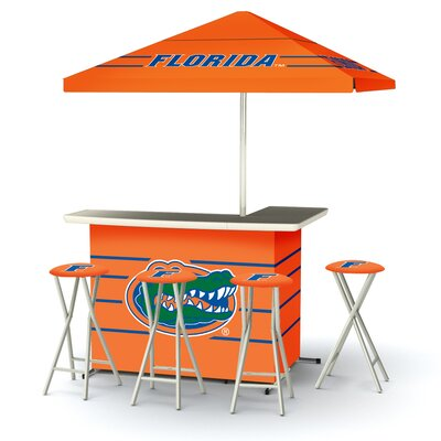 5 Piece University Of Florida Bar Set