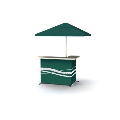 Classic Bar Table Finish: Green