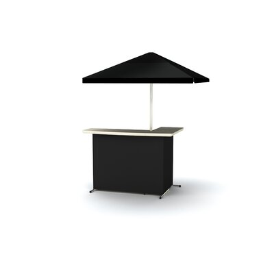 Bar Table Finish: Black