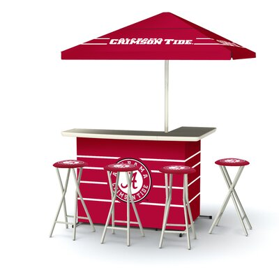 NCAA Deluxe Bar Set Team: University of Alabama