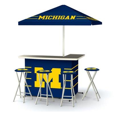 Ncaa Deluxe Bar Set Team: University Of Michigan