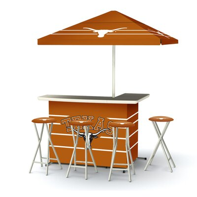 Outstanding Ncaa Deluxe Bar Set Team University Texas Product Photo
