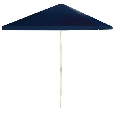 8 Square Market Umbrella Color: Navy Blue