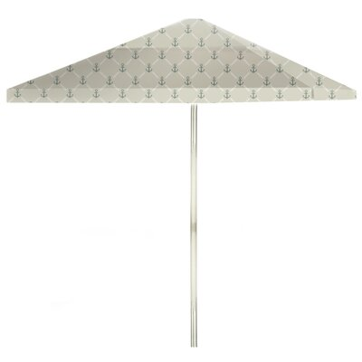 8 Square Market Umbrella Color: Gray/Gray
