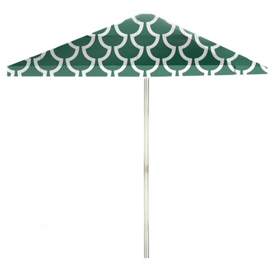 8 Square Market Umbrella Color: Ocean Green