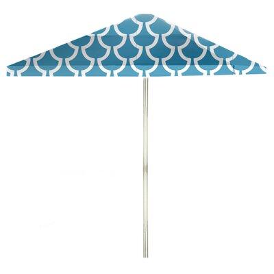 8 Square Market Umbrella Color: Ocean Blue