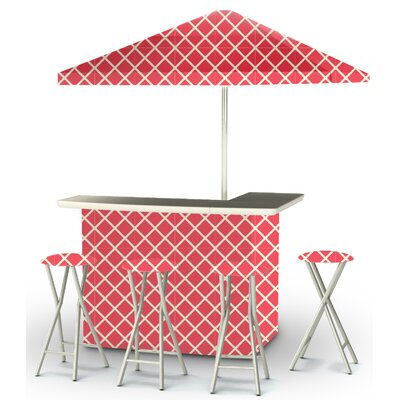 9 Piece Patio Bar Set