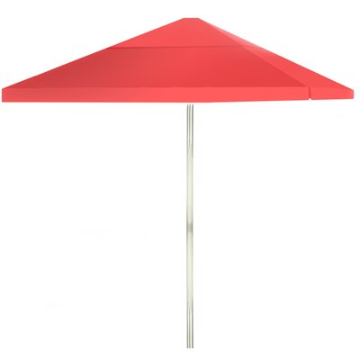 8 Square Market Umbrella Color: Salmon