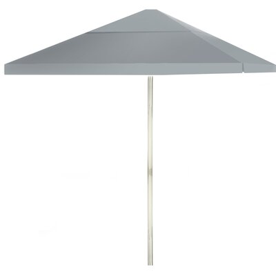 8 Square Market Umbrella Color: Gray