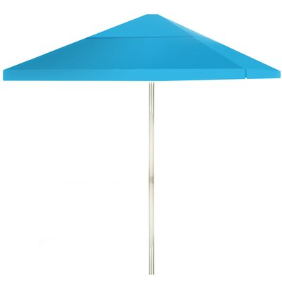 8 Square Market Umbrella Color: Sky Blue