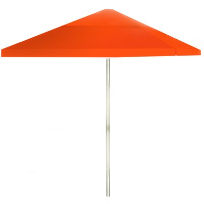 8 Square Market Umbrella Color: Orange