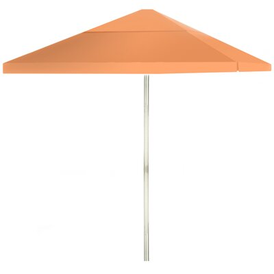 8 Square Market Umbrella Color: Peach