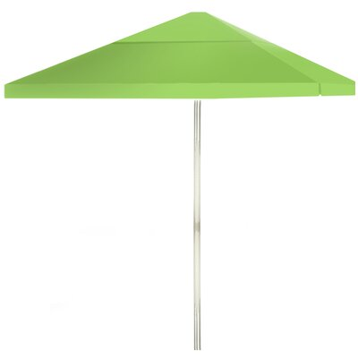 8 Square Market Umbrella Color: Lime Green