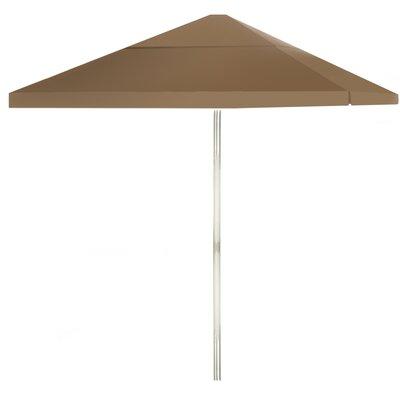 8 Square Market Umbrella Color: Light Brown