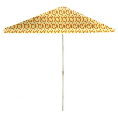 8 Square Market Umbrella Color: Toasted Sunshine