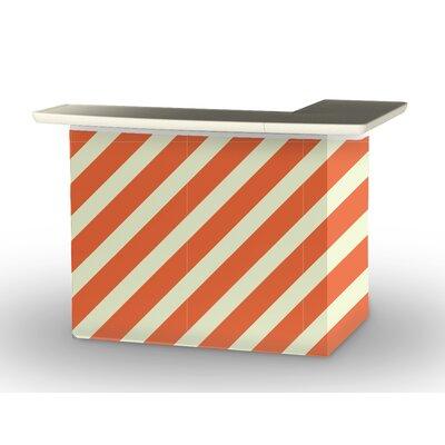 Patio Bar Color: Orange/Sherbet
