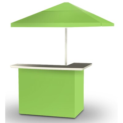 2 Piece Patio Bar Set Color: Lime Green