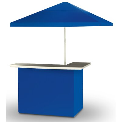 2 Piece Patio Bar Set Color: Royal Blue