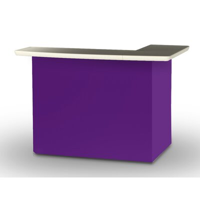 Patio Bar Color: Purple