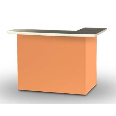 Patio Bar Color: Peach