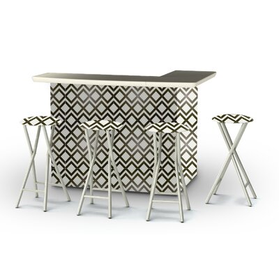 8 Piece Patio Bar Set