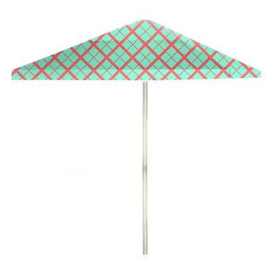 8 Square Market Umbrella Color: Sherbet