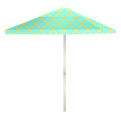 8 Square Market Umbrella Color: Mint/Lemonade
