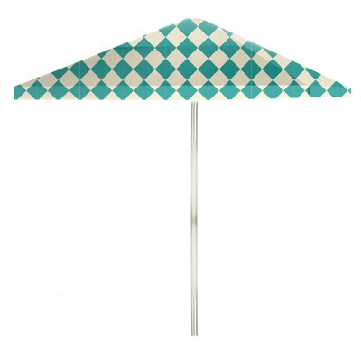 8 Square Market Umbrella Color: Mint/Cream