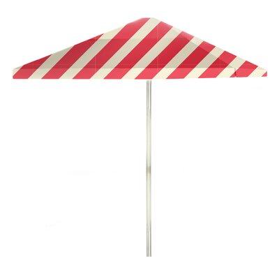 8 Square Market Umbrella Color: Peppermint