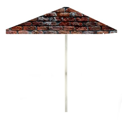 8 London Brick Square Market Umbrella