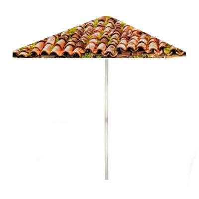 8 Italian Villa Square Market Umbrella