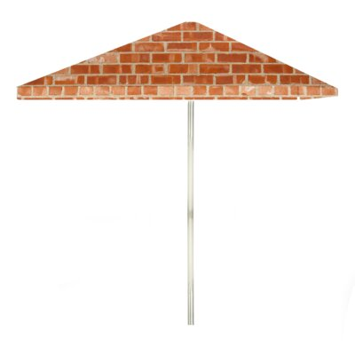 8 Boston Brick Square Market Umbrella