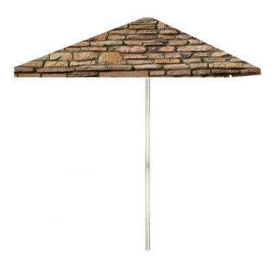 8 Rock Wall Square Market Umbrella
