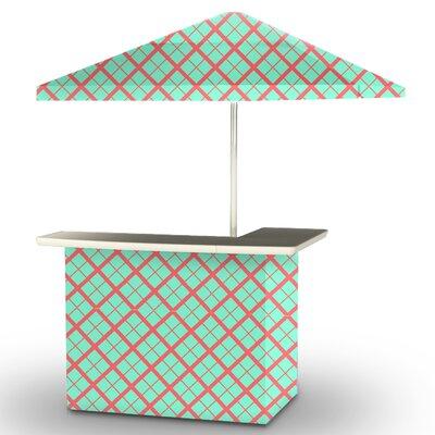 5 Piece Patio Bar Set Color: Sherbet