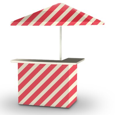 5 Piece Patio Bar Set Color: Peppermint