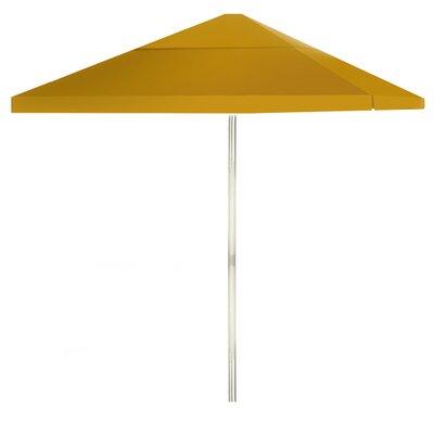 8 Square Market Umbrella Color: Gold