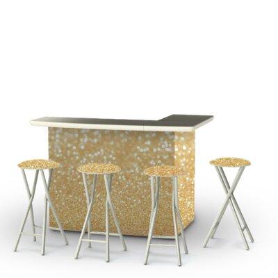 Glitter Me Gold Bar Set
