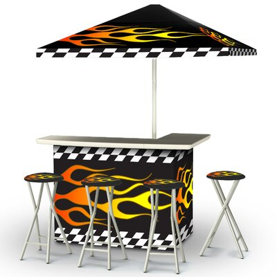 Serious Racing Flames Bar Set Product Photo