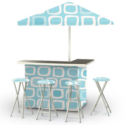 Its A Boy Bar Set Finish: Blue