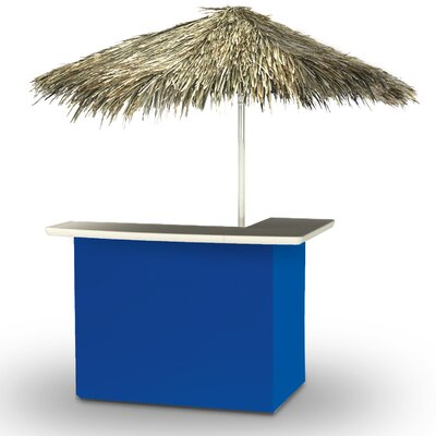 Home Tiki Bar Set Finish: Royal Blue