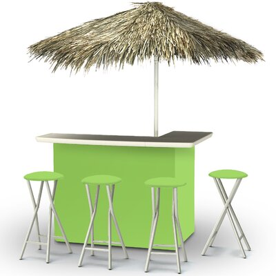 Tiki Bar Set Finish: Lime