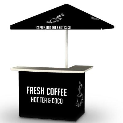 Coffee Bar Set Finish: Black