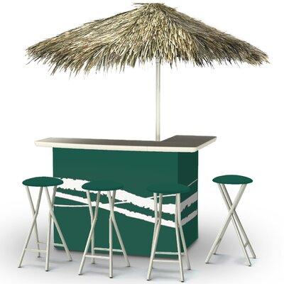 Tiki Bar Set Finish: Green