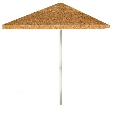8 Corkboard Square Market Umbrella