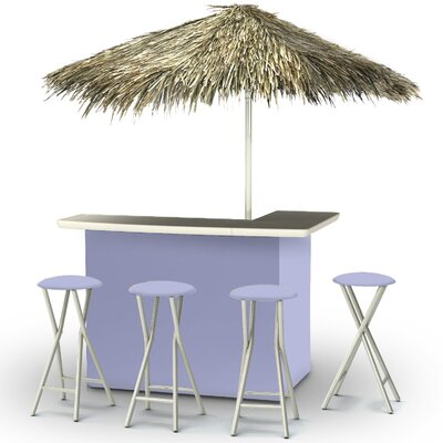 Tiki Bar Set Finish: Lavender