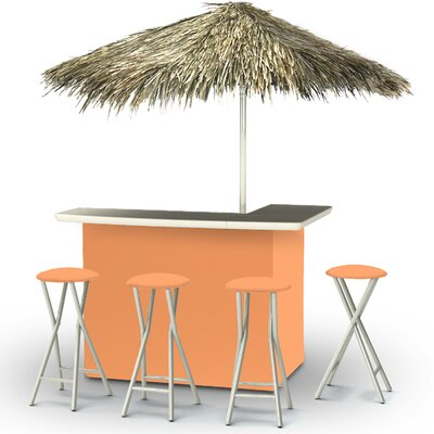 Tiki Bar Set Finish: Peach