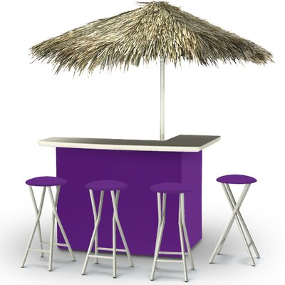 Tiki Bar Set Finish: Purple
