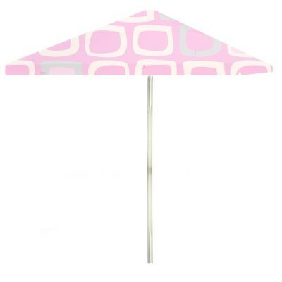 8 Its A Girl Square Market Umbrella Color: Pink