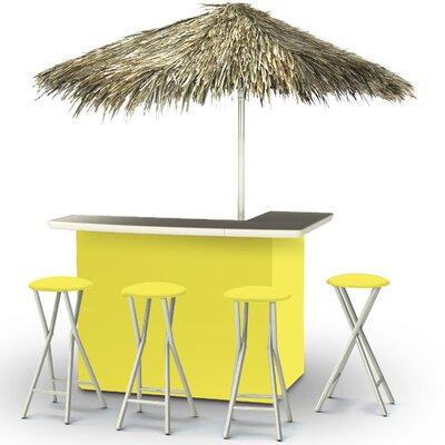 Tiki Bar Set Finish: Yellow